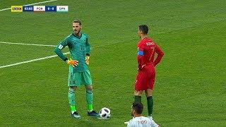 Why Goalkeepers are Afraid of Cristiano Ronaldo?