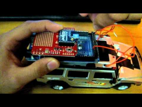 Controlling an RC Car Wirelessly via Laptop