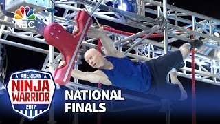 Kevin Bull at the Las Vegas National Finals: Stage 2 - American Ninja Warrior 2017