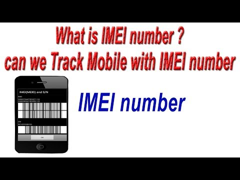 What is IMEI number ? can we Track Mobile with IMEI number