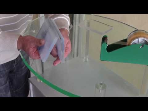 How to glue acrylic * Hinge technique * Technik: Scharnierkleben