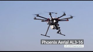 Phoenix Aerial AL3-16 UAV LiDAR Mapping System Overview