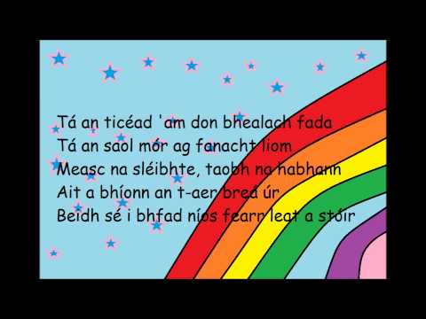 CUP SONG IN IRISH