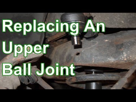 How To Replace an Upper Ball Joint - Ford Lincoln Mercury