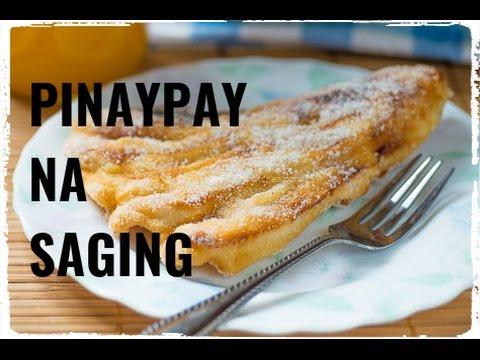 Pinaypay na Saging (Fried Banana Fritters)