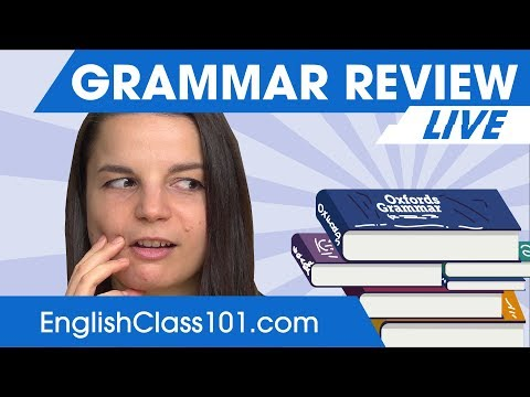 Review English Grammar in 30 Minutes 🔴