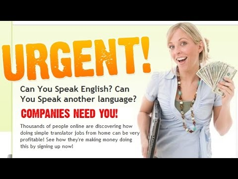 Work From Home Translation Jobs - Get Paid For Translating Online