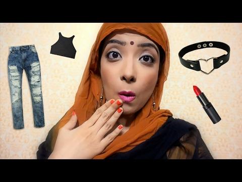 Tauba Tauba Aajkal ka Fashion aur Makeup   Desi Mom Funny reactions in Hindi   Comedy   Bhawna Ahuja