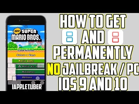 How to get iNDS and NDS4iOS Permanently on iOS 9 & iOS 10 No Jailbreak & Computer iPhone, iPad, iPod