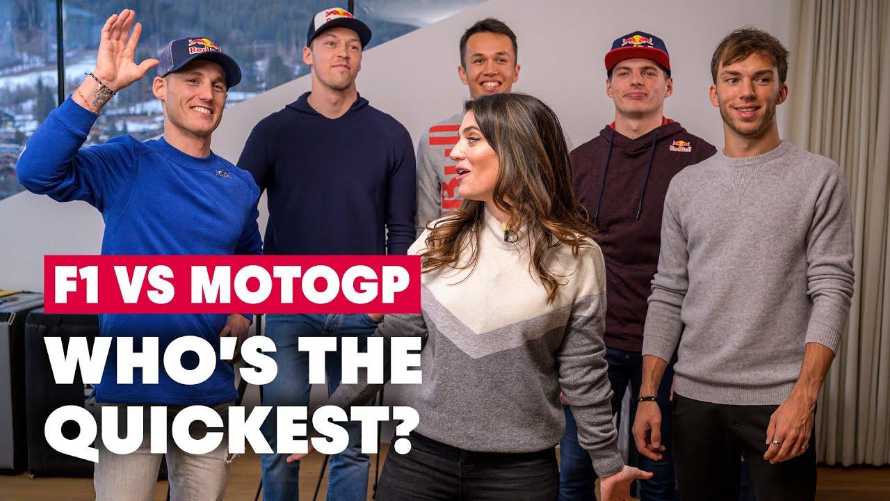 Formula 1 Vs MotoGP: The Ultimate Reaction Time Challenge