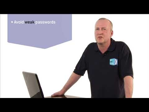 Choose strong passwords