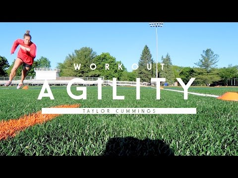 Agility Workout   Changing Direction & Changing Speed