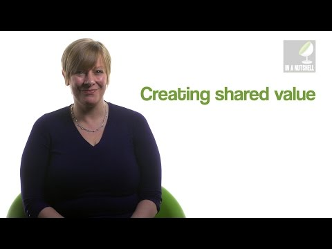 How to create shared value - In a nutshell