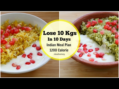 How To Lose Weight Fast 10 Kgs In 10 Days - Full Day Indian Indian Meal Plan - Indian Diet Plan