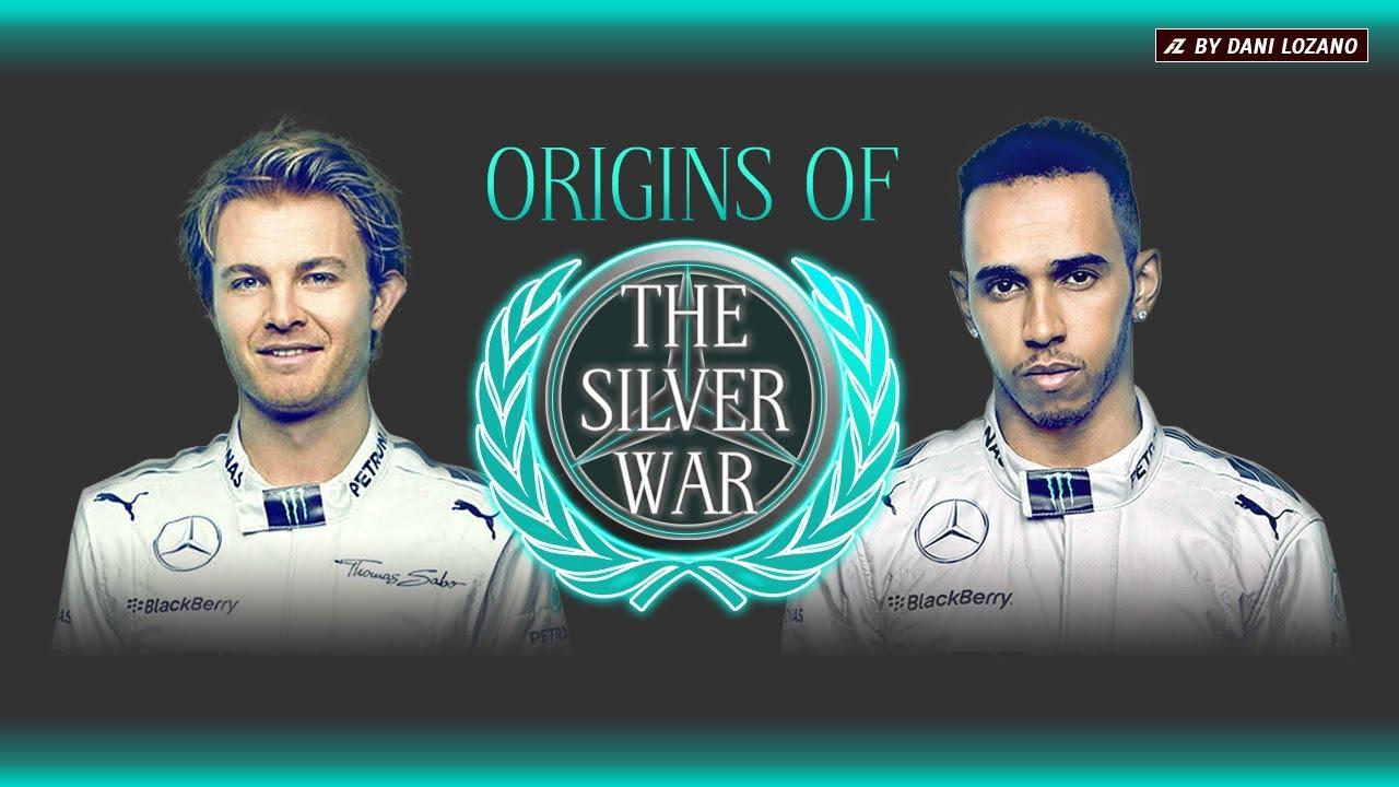 Origins of The Silver War (Hamilton vs Rosberg F1 2014)