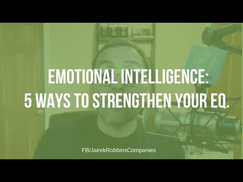 FB Live Repost: EMOTIONAL INTELLIGENCE: 5 Ways to strengthen your EQ.