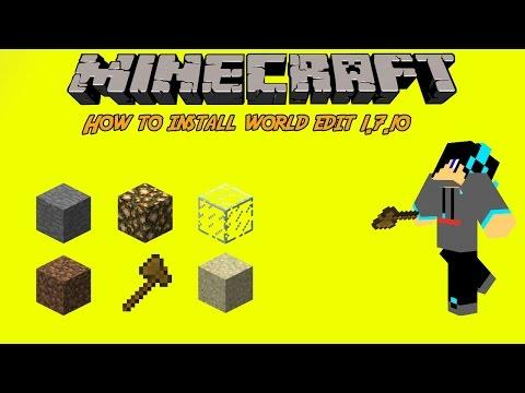 Minecraft: How to Install World Edit [1.7.10] (Mac)