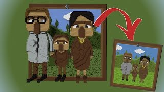 How to make Custom Paintings in Minecraft!