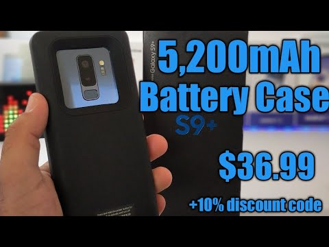 Samsung Galaxy S9 Plus Best Battery Case