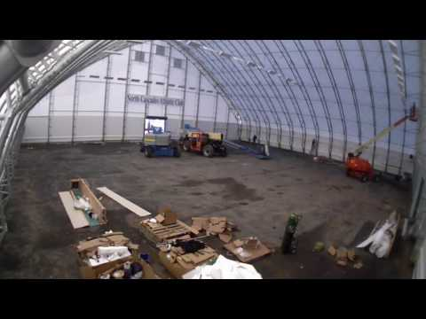 NCAC Indoor Court Construction