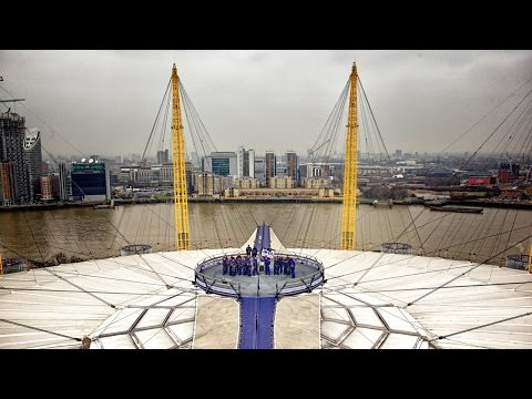 Places to see in ( London - UK ) Up at The O2