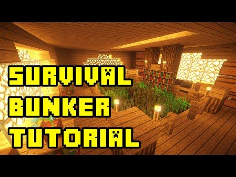 Minecraft: Survival Apocalypse Bunker Tutorial Xbox/PE/PC/PS3/PS4
