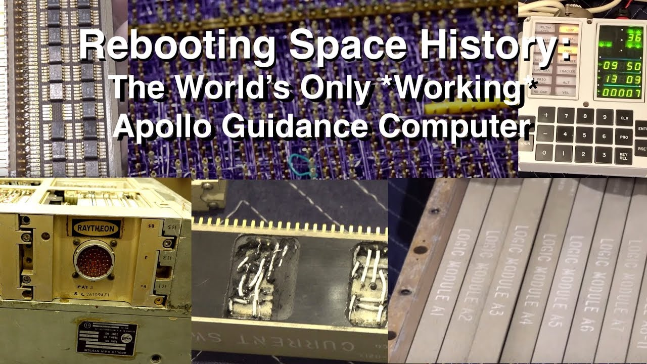 Rebooting a 50 Year Old Computer - Making The Apollo Guidance Computer Work Again