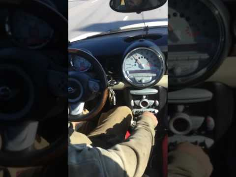 Turbo Mini Cooper shifting