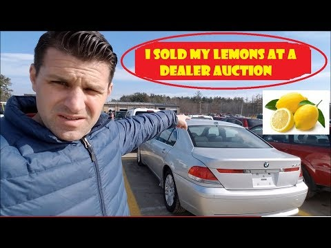 I Re-Sold My 2 Lemons at a Dealer Auction. Did I WIN OR LOSE!!??