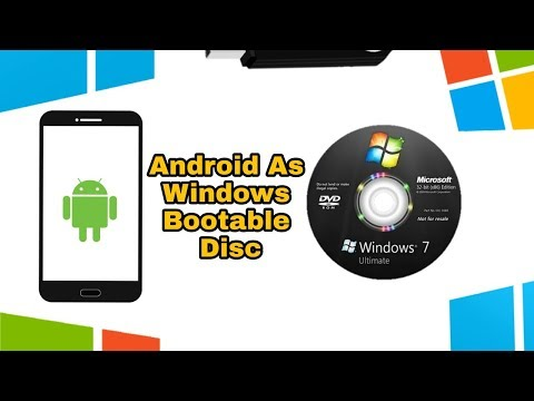 Use Android As Windows Bootable Pendrive Or Disc