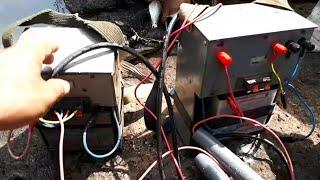 Setrum Ikan Tanpa Plati Menggunakan Transistor D718 Dan Trafo 5