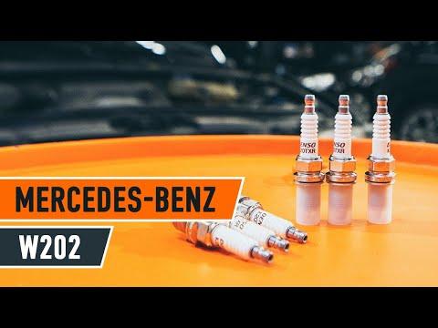 How to replace spark plug MERCEDES-BENZ C W202 TUTORIAL | AUTODOC