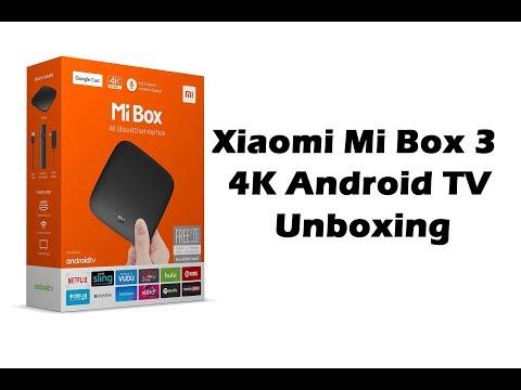 Xiaomi Mi Box 3 4K Android TV Unboxing