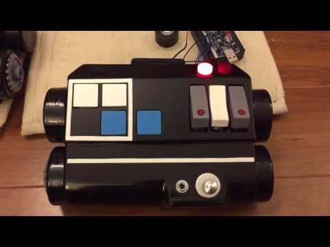 Working Button Tie Pilot Chestbox Lights and Sound