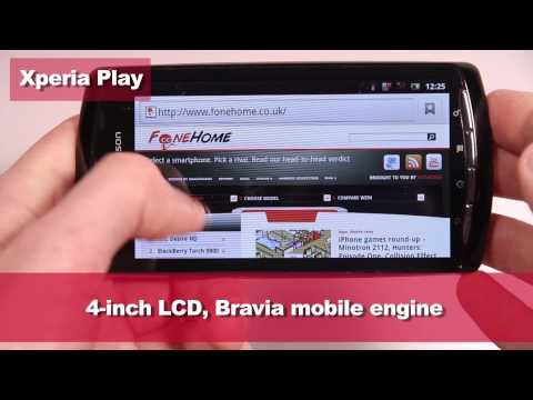 Xperia Play vs iPhone 4 - mobile gaming maestros