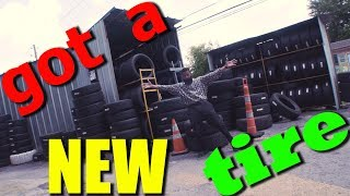 I Got A New Tire | Bearded Daddy Vlog Life Ep 107