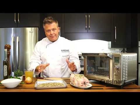 Rotisserie Chicken using the Cuisinart Rotisserie Convection Toaster Oven