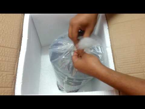 unboxing the competition grade flowerhorn A.G.R CHENNAI INDIA