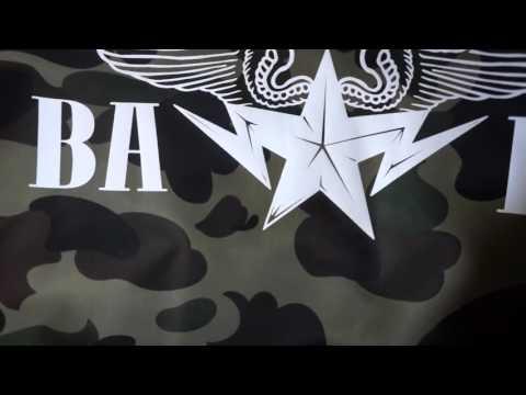 6028880378b25c A Bathing Ape (BAPE) 1st Camo Green Lightweight MA-1 Bomber Jacket Unboxing