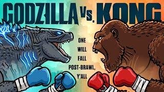Godzilla vs Kong Trailer Spoof - TOON SANDWICH