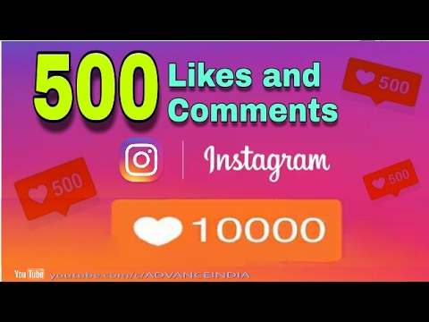 How to get 500 Likes & Comments on Instagram in 10 min in Hindi 2017-October (With Proof)