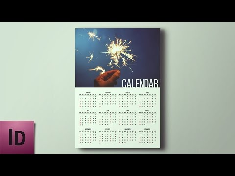 How To Create a Calendar - InDesign Tutorial