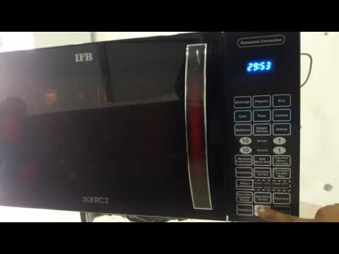 How to use ifb 3o liter convection rotating grill microwave model 30frc1 full demo