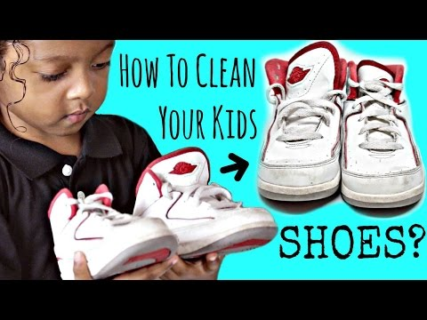 How To Clean Kid Shoes (Quick and Easy)