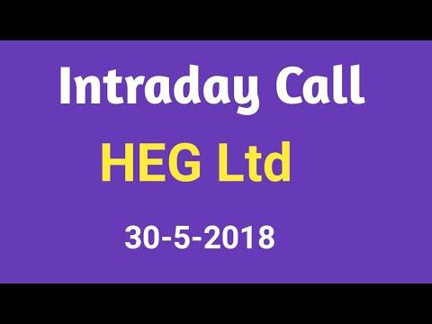 Intraday Call - HEG Ltd - 30 May 2018