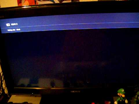 PS3 Start up (set up to HDMI)