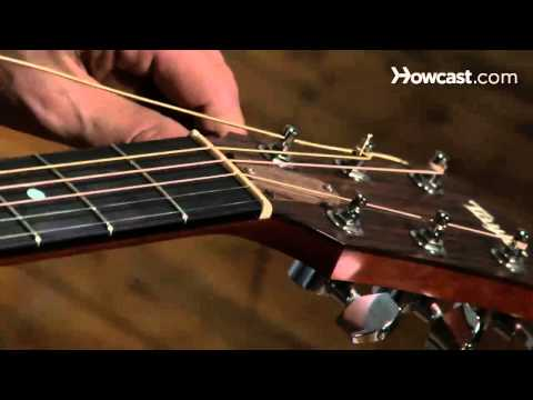 How to Restring a Steel String Guitar | Guitar Lessons