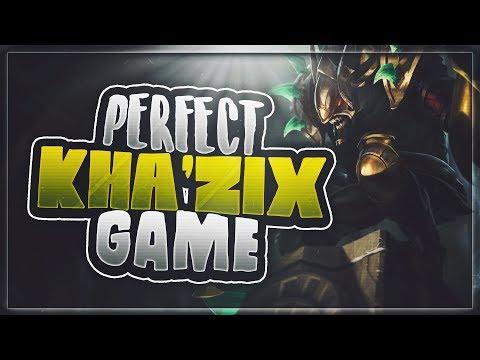 Perfect Kha'zix gameplay \\ Jungle Guide