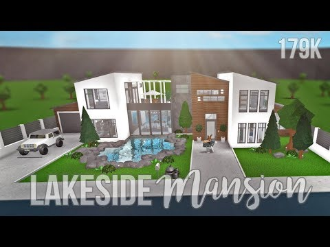 Bloxburg: Lakeside Mansion 179K