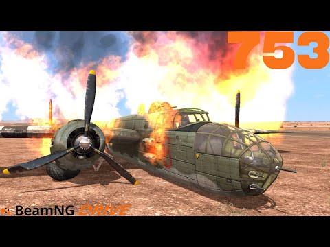BEAMNG DRIVE #753 I Triebwerksbrand I Let's Play BeamNG Drive mit GCG [Alpha] [HD]